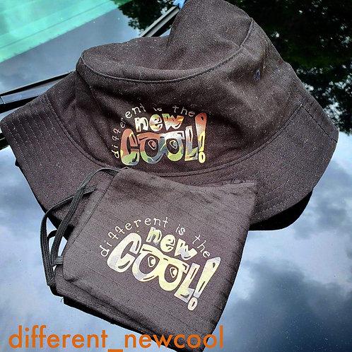 BUCKET HAT AND MASK COMBO SET
