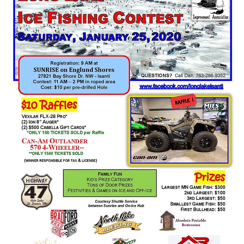LLIA Ice Fishing Tournament & Raffle Tickets