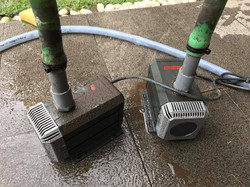 Cleaning and remove choke from pump