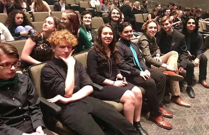 At One Act Competition