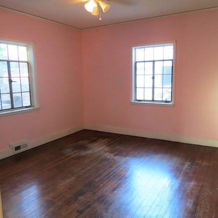 Main Floor Bedroom - Before