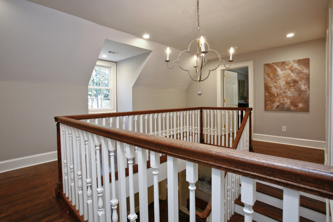 Upstairs Landing - After
