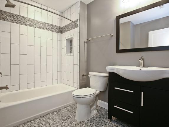 Hall Bath - After