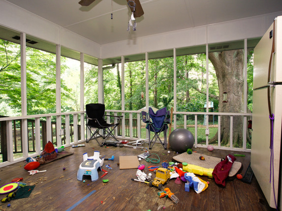 Screened Porch - Before
