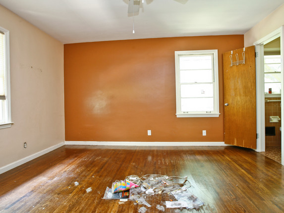 Bedroom 2 - Before
