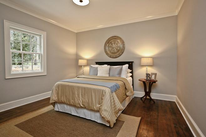 Main Floor Bedroom - After