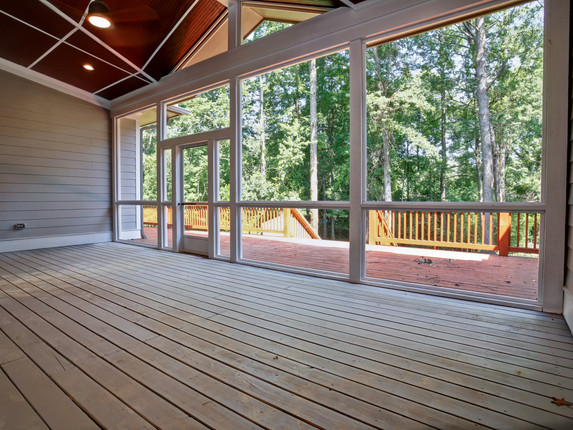 Screened Porch - After