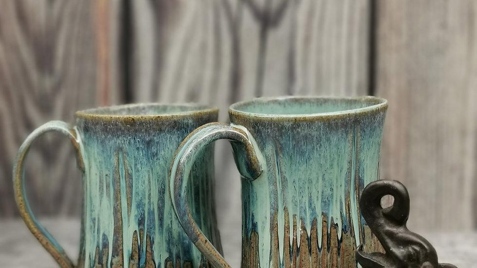 Carved mug 12 oz