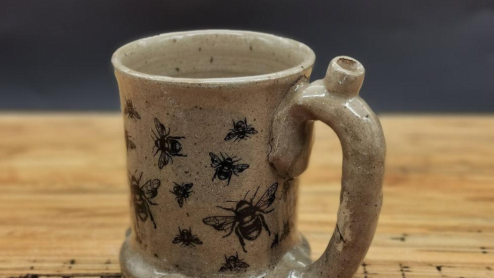 Wake and bake mug left handed