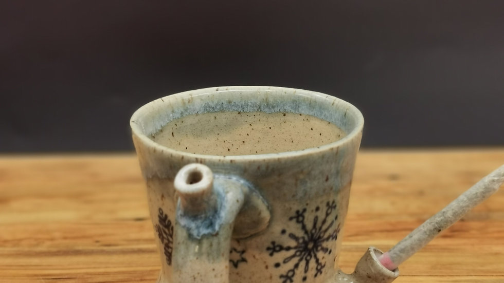 Christmas blunt holder mug