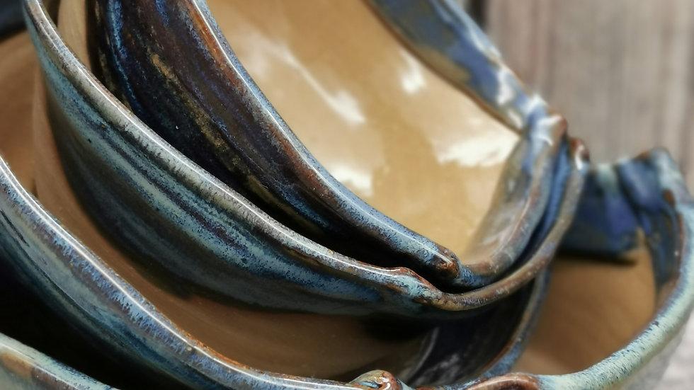 Altered rim bowls Set of 4