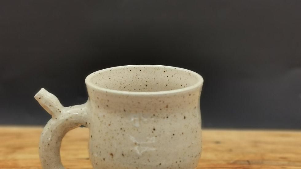 Wake and bake mug right handed