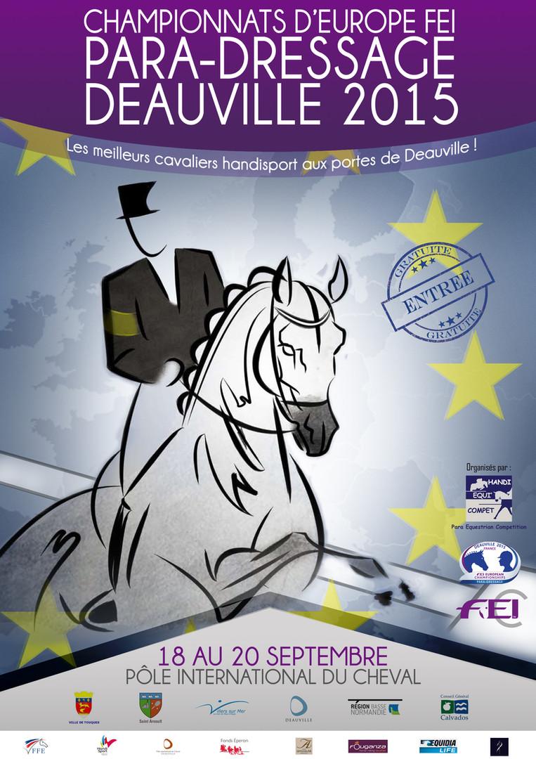 Championnats d'Europe 2015 - Affiche- Gr