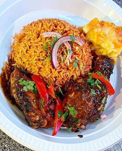 Party Food Alert 🚨- Jollof Rice, Mac 'n