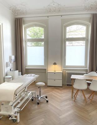 Behandlungsraum Heilpraxis Rotherbaum