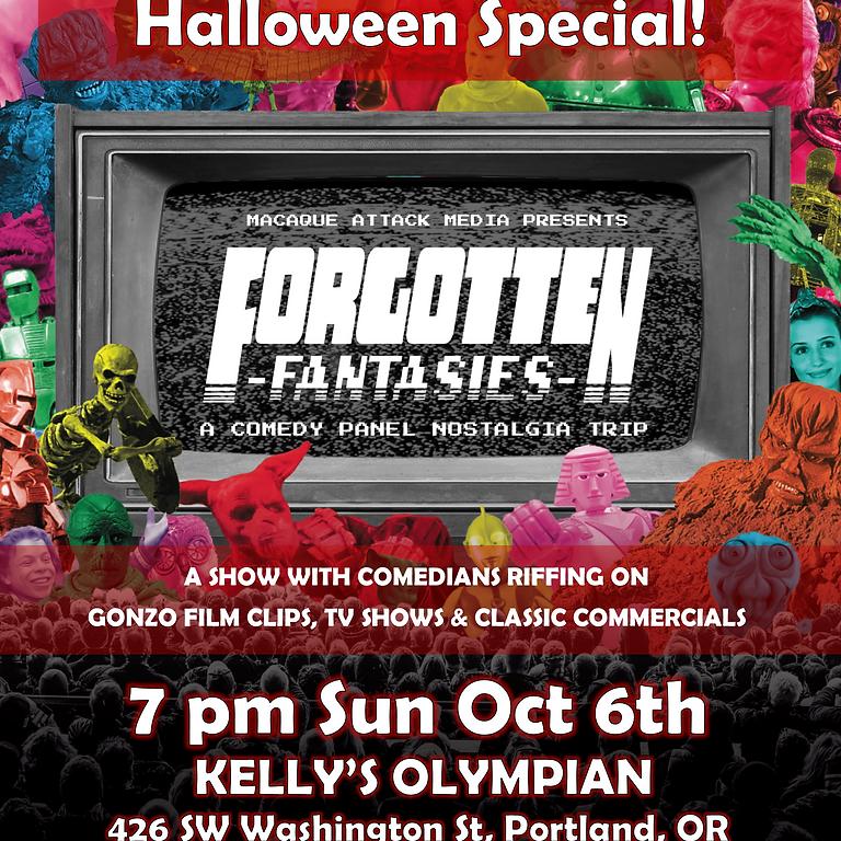Forgotten Fantasies Live: 2nd Annual Best Movie Kills Halloween Special!