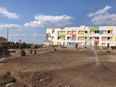 Ventrac pomáhá s obnovou mateřské školky v Moravské Nové Vsi
