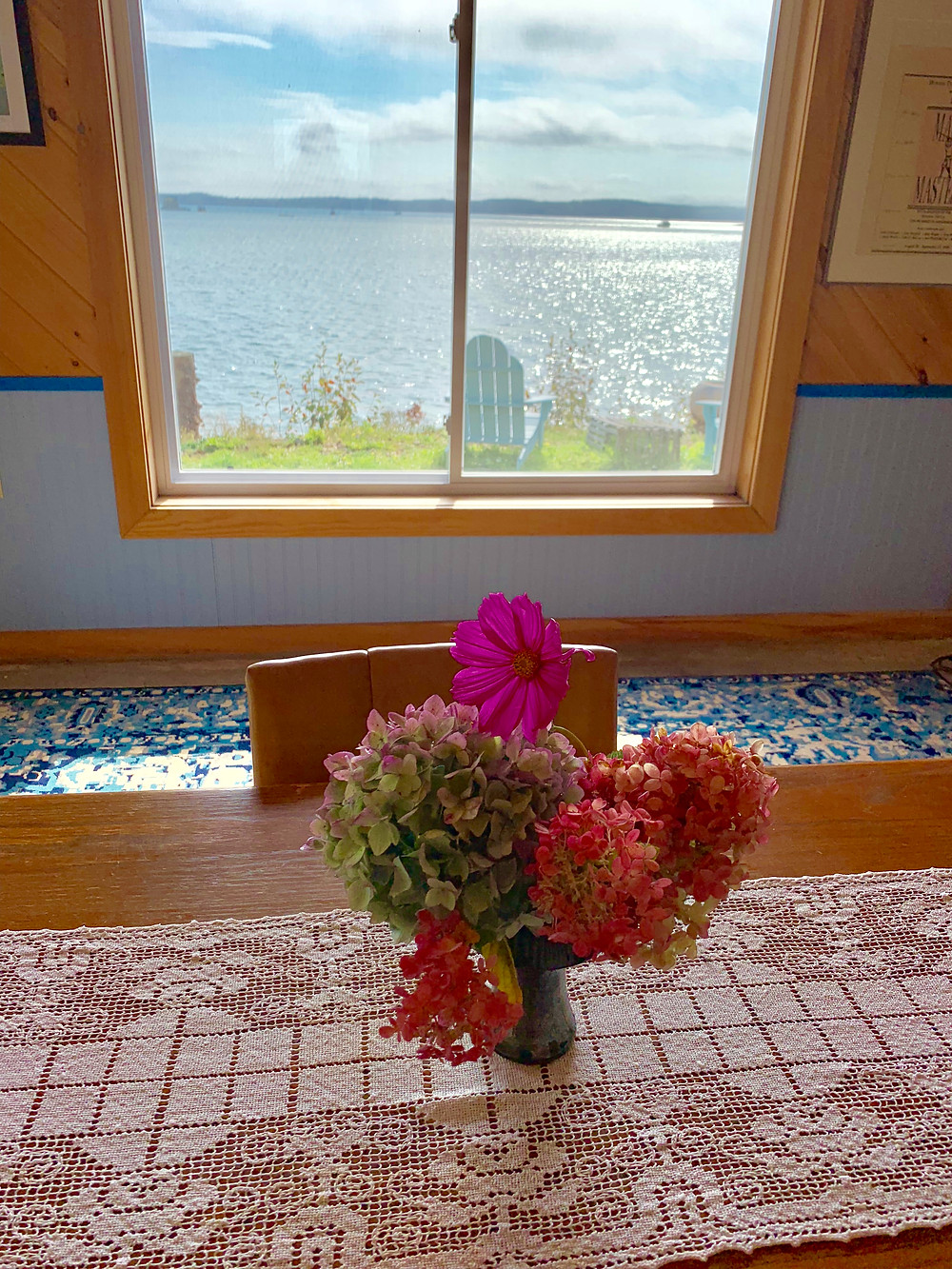 This is one of the beautiful cottages at Rossport By the Sea Lodging and Retreats.