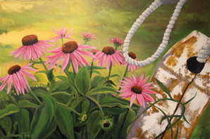 """Echinacea and Buoys"""