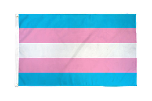 Transgender Flag 3x5ft Poly