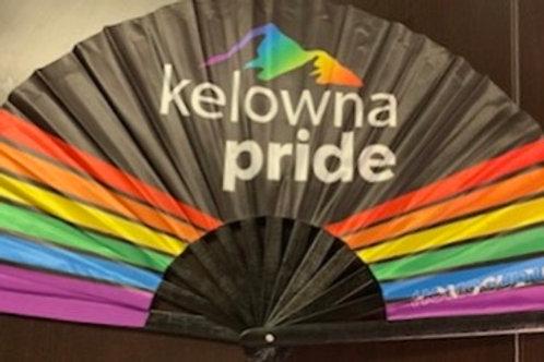 Kelowna Pride Snap Fan