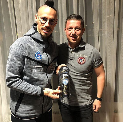 New carbon shinpads for _marek_hamsik_17