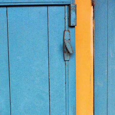 Blue Door, Yellow Strip