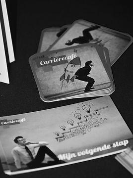 Het bedrijfsleven zet het Carrierecafé vaak in bij verandertrajecten om medewerkers de kans te geven zic te herdefinieren.
