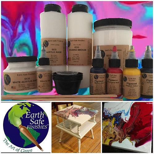 ECO Fluid Acrylic Pouring Kit