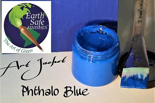 Phthalo Blue - Art Jacket