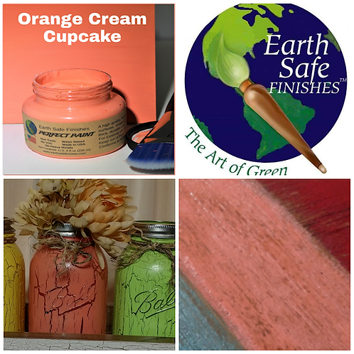 Orange Cream Cupcake - Perfect Paint