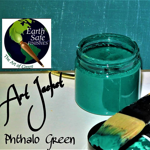 Phthalo Green - Art Jacket