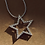 Thumbnail: Diamond Star Pendant & Chain