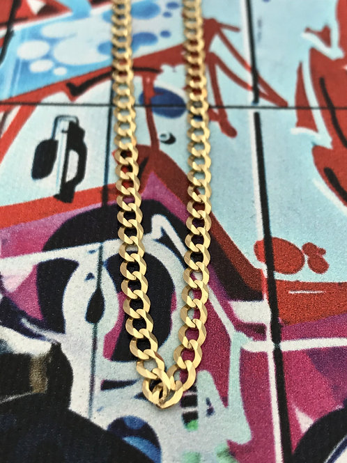 14k Yellow Gold Prime Link Curb Chain