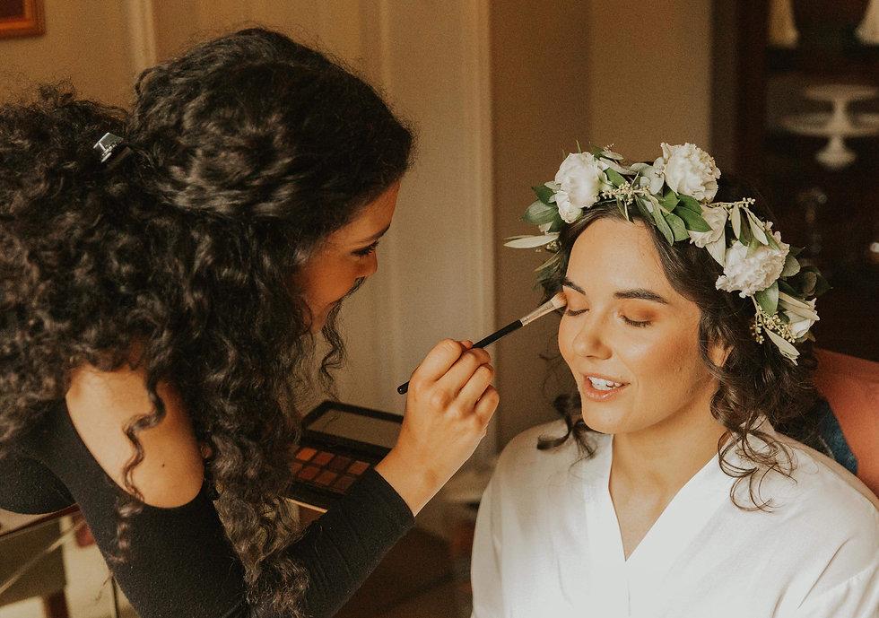 Holly's Wedding day 2019