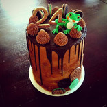 Little Frog Tripple Chocolate Cake