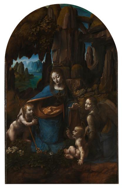 "Fig. 2. Leonardo, ""The Virgin of the Rocks"", c.1485-1508, National Gallery, London."