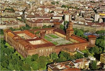 Castello Sforzesco, Milan, 1360-1490.