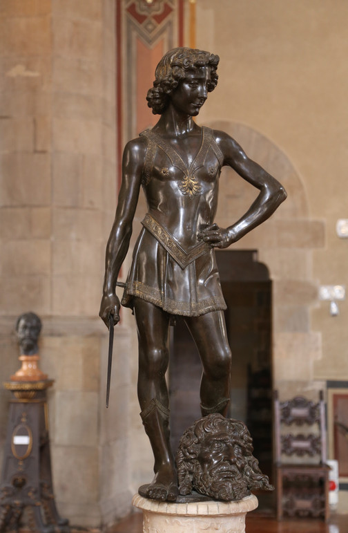 "Fig. 16. Andrea del Verrocchio, ""David"", c.1475."