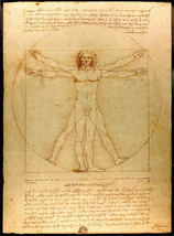 "Fig. 55. Leonardo, ""Vitruvian Man"", c.1490."