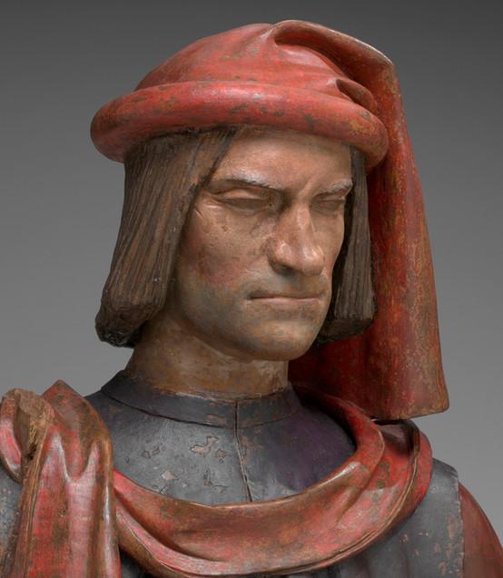 "Fig. 8. Andrea del Verrocchio, ""Bust of Lorenzo de' Medici"", c.1478."