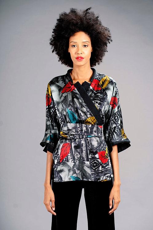 Kimono Modello Tubolare in seta