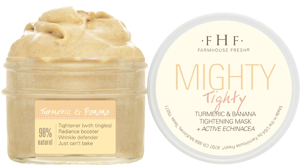 Mighty Tighty Tumeric & Banana Mask