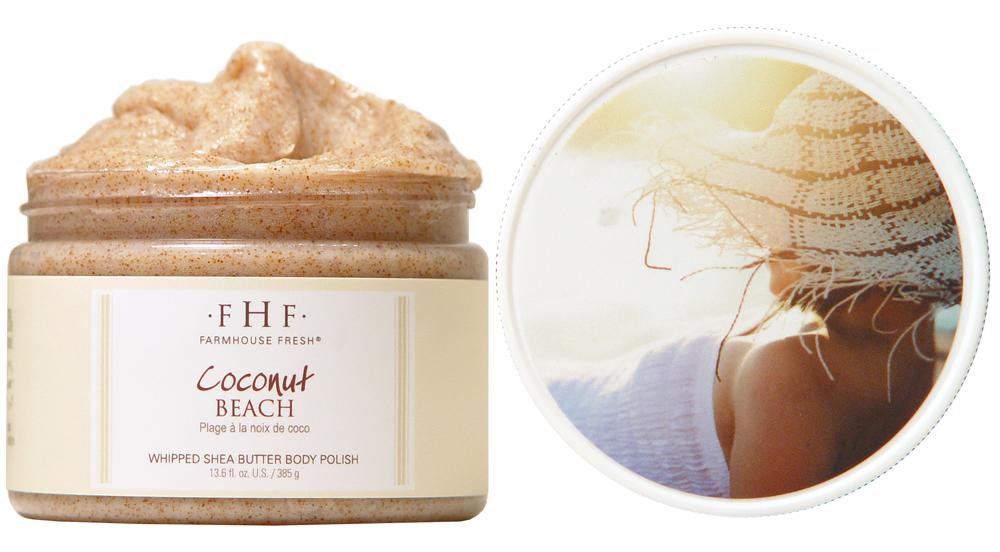 Coconut Beach Body Scrub