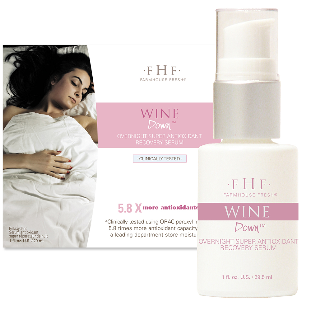 Wine Down Overnight Recovery Serum