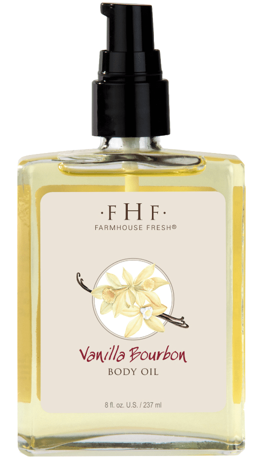 Vanilla Bourbon Body Oil