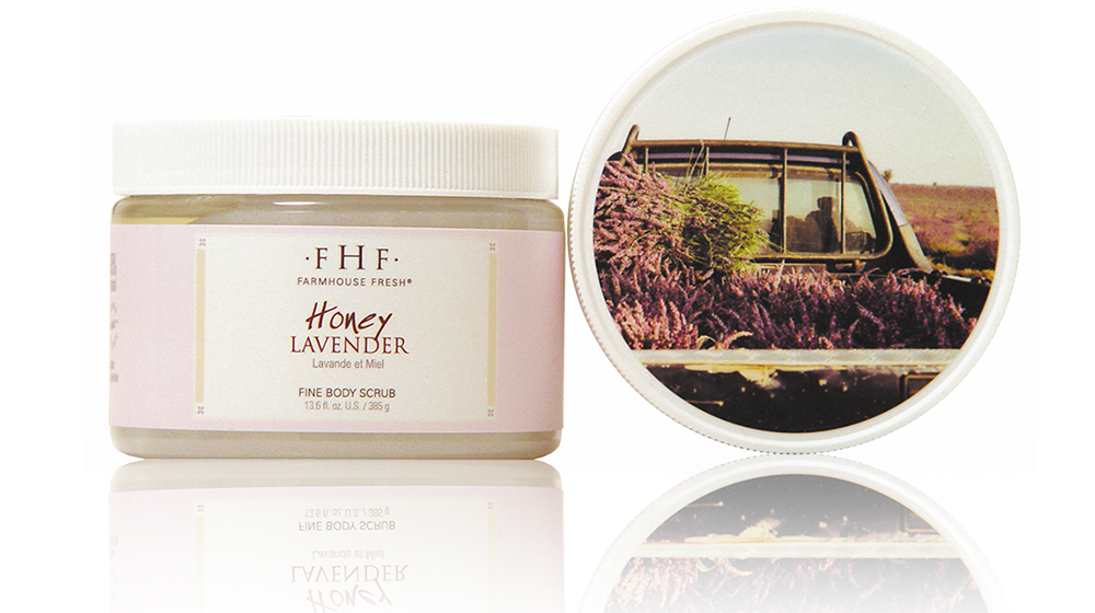 Honey Lavender Sea Salt Scrub