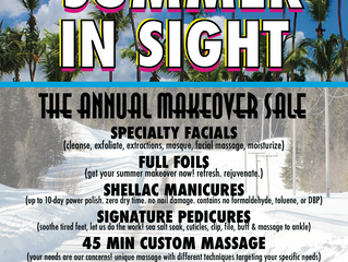 The Annual Makeover Sale!