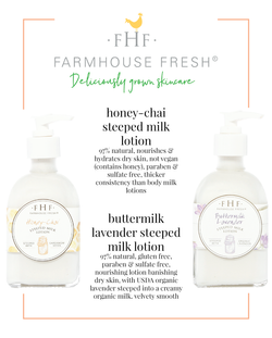 Steeped Milk Lotions