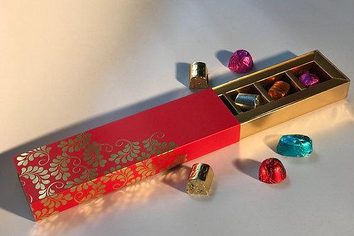 Belgian Chocolates in Cardboard box- 5 pc